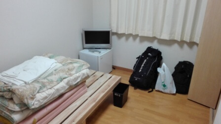 リゾートバイト 個室