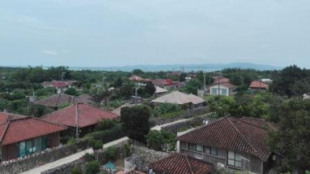 竹富島高台から撮影