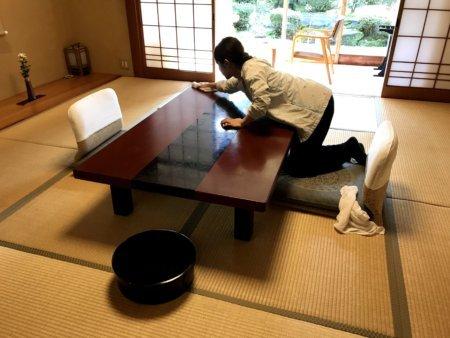 リゾートバイトの裏方・客室清掃業務