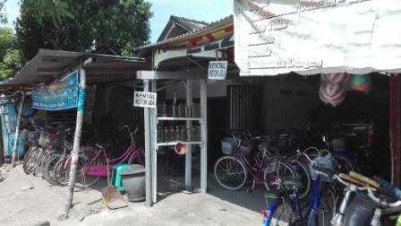 パレのレンタル自転車屋さん